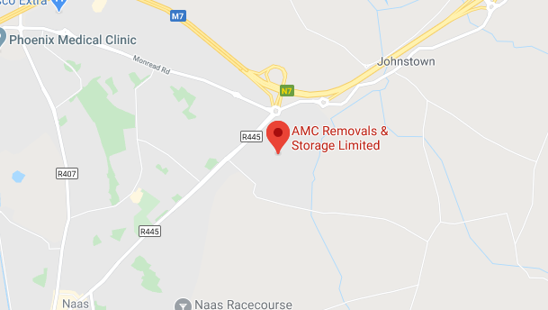 AMC Kildare map